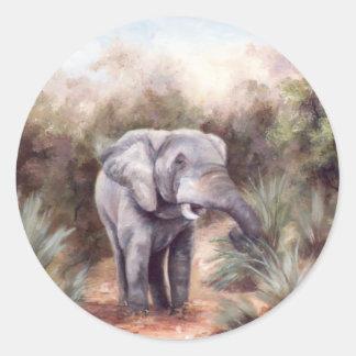 Elephant COMING THROUGH Sticker