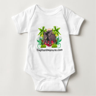 Elephant Compost:  Children Love Gardens Baby Bodysuit