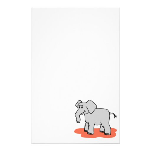 Elephant Custom Stationery