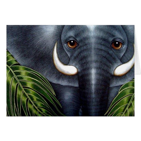Elephant Customise Card