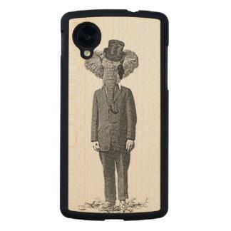 Elephant dandy carved® maple nexus 5 case