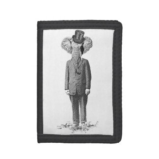 Elephant dandy tri-fold wallets
