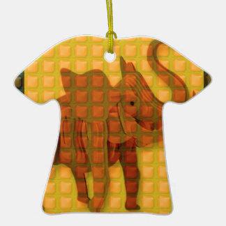 Elephant Decorative Button Art FUNNY GIFTS love al Ornaments