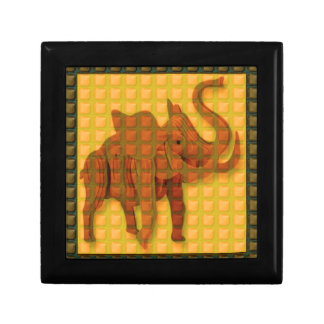 Elephant Decorative Button Art FUNNY GIFTS love al Jewelry Boxes