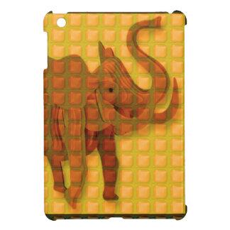 Elephant Decorative Button Art FUNNY GIFTS love al iPad Mini Case