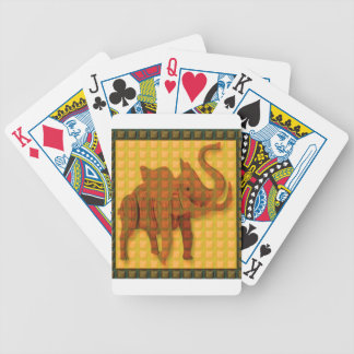 Elephant Decorative Button Art FUNNY GIFTS love al Bicycle Card Deck