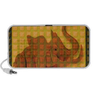 Elephant Decorative Button Art FUNNY GIFTS love al Mini Speakers