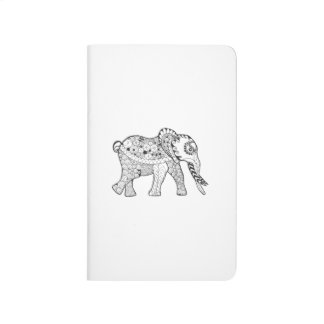 Elephant Doodle Journal