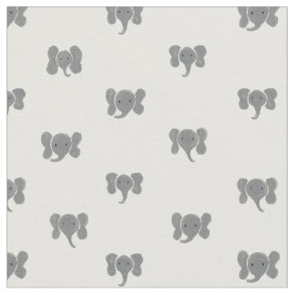 Elephant Dots Fabric