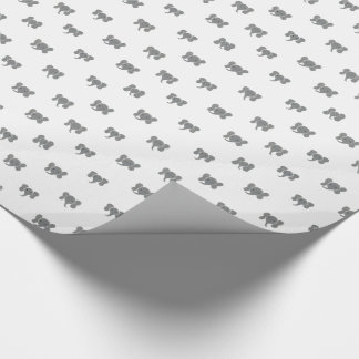 Elephant Dots Wrapping Paper