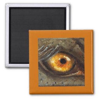 Elephant Eye Square Magnet