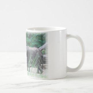 elephant-family-2 basic white mug