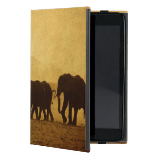 Elephant Family Cover For iPad Mini