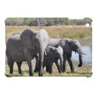 Elephant family iPad mini cover