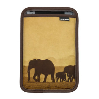 Elephant Family iPad Mini Sleeve