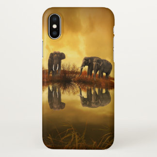Elephant Family iphone Cover