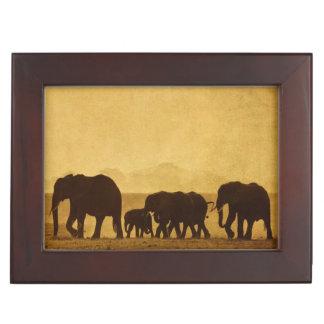 Elephant Family Memory Boxes