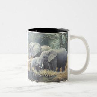 """Elephant Family"" Mug"