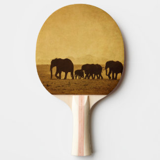 Elephant Family Ping Pong Paddle