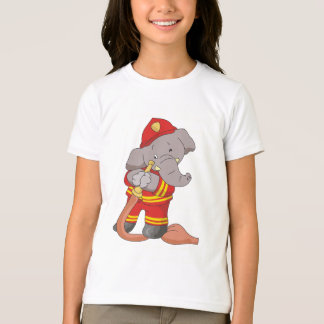 Elephant FIrefighter Tshirts and Gifts