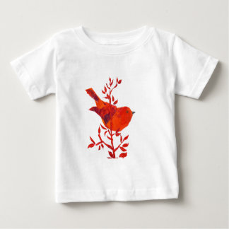 Elephant Floral Safari Jungle Baby T-Shirt