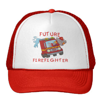 Elephant Future Firefighter T-shirts and Gifts Cap