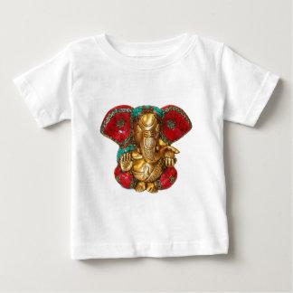 Elephant Head Brass Statue Indian Hindu Temple Art Baby T-Shirt