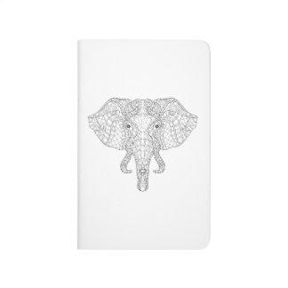 Elephant Head Doodle 2 Journal