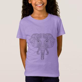 Elephant Head Doodle 2 T-Shirt
