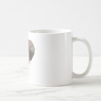 Elephant Head  Low Poly Vector Style Coffee Mug