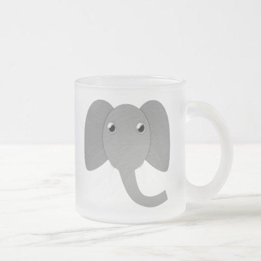 Elephant Head Mugs