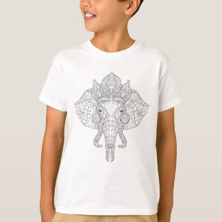 Elephant Head Zendoodle T-Shirt