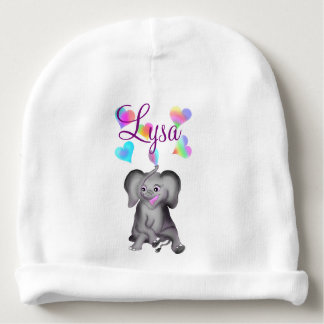 Elephant Hearts by The Happy Juul Company Baby Beanie