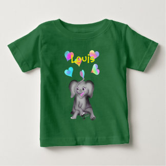 Elephant Hearts by The Happy Juul Company Baby T-Shirt