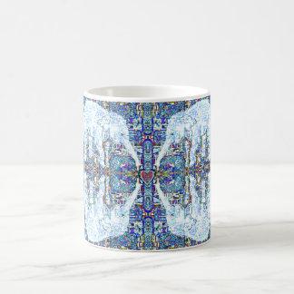 Elephant Hearts Mandala Coffee Mug
