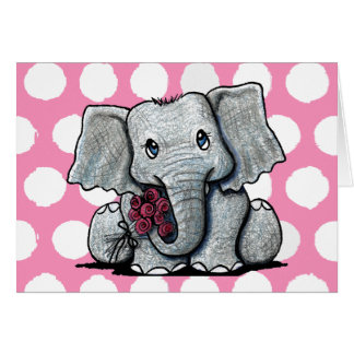 Elephant I'M SORRY Card