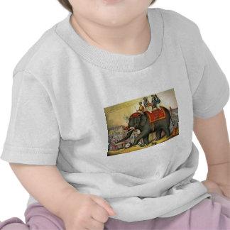 Elephant image - Vintage Tee Shirt