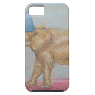 elephant in the circus iPhone 5 covers