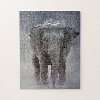 elephant in the jungle jigsaw puzzle