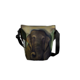 Elephant In The Room Courier Bags