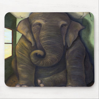 Elephant In The Room Mousepads