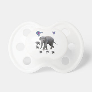 Elephant infant pacifier baby