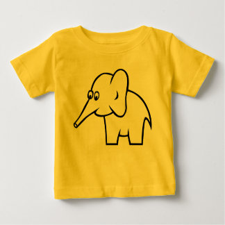 Elephant Infant Short Sleeve Shirt