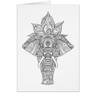Elephant Inspired Card