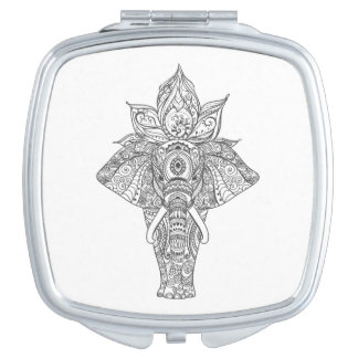 Elephant Inspired Compact Mirrors