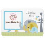 Elephant Love Personalised Photo Magnet