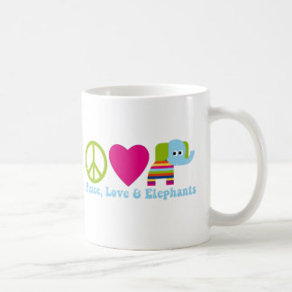 Elephant Love Tees and Gifts - 2 Styles,Great Gift Coffee Mug