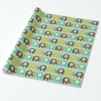 Elephant Love Wrapping Paper