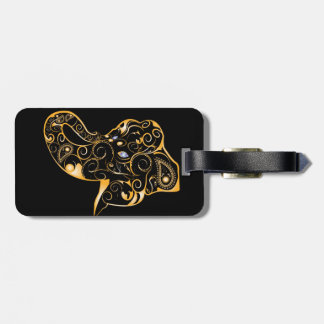 Elephant Luggage Tag