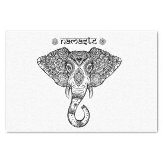 Elephant Mandala tissue paper